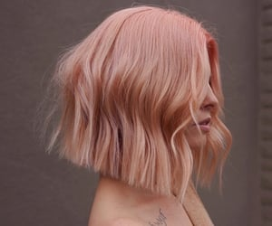 hair, pink hair, and hair styles image