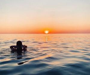 art, beach, and summer image
