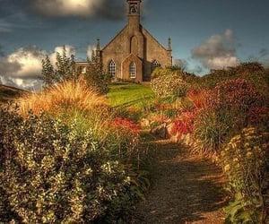 scotland, shetland isles, and weisdale kirk image