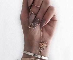 bracelet, diamond, and fashion image