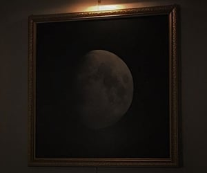 canvas, moon, and aes image
