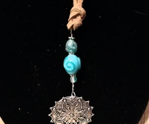 copper, medallion, and necklaces image