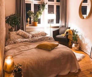 bedroom, boho, and house image