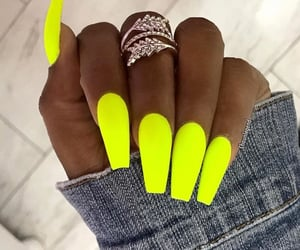 nails and neon image