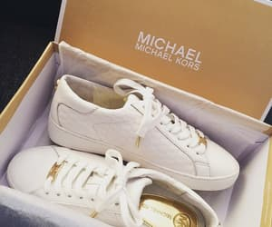 sneakers, Michael Kors, and shoes image