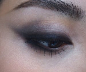 dark and makeup image