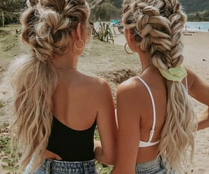 besties, braids, and friendship image