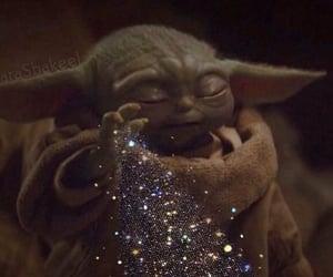 baby yoda, meme, and star wars image
