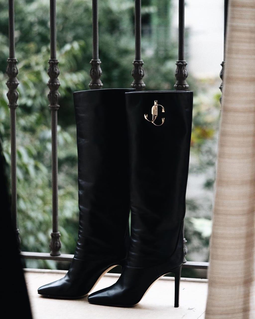 boots, Jimmy Choo, and womenswear image