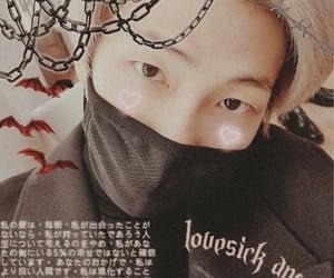 asian boy, 김남준, and edit image