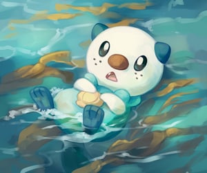 fanart, water, and pokemon image