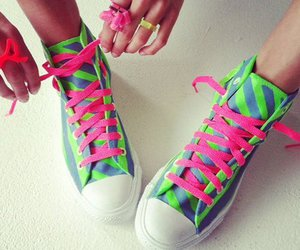 pink and shoes image