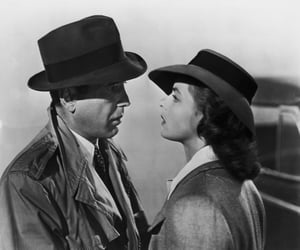 Casablanca, ingrid bergman, and black and white image