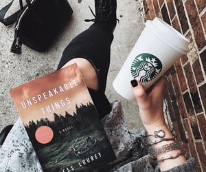accessories, book, and caffeine image