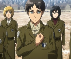 anime, armin, and snk image