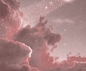 moon, pink, and aesthetic image