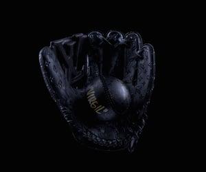 art, background, and baseball image