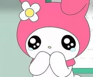 my melody, sanrio, and meme image
