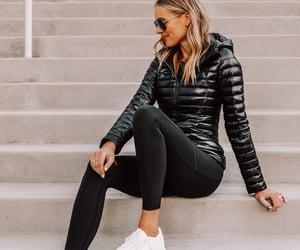 blogger, fashion, and leggings image
