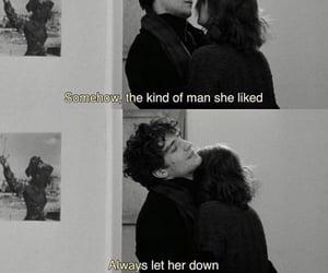 black & white, jealousy, and movie image