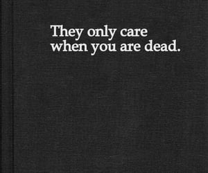 dead, care, and quotes image