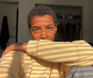 beauty, black girl, and style image
