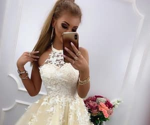 evening dresses, formal wear, and Prom image