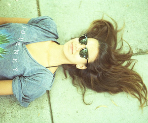 girl, photography, and sunglasses image