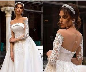 wedding, white, and novia image