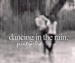 quotes, rain, and dance image