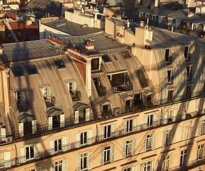 architecture, paris, and rooftops image