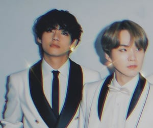 bts, taehyung, and yoongi image