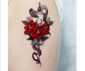 roses, Tattoos, and tatuajes image