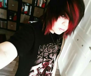 awesome, black hair, and emo image