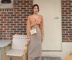 asian, beige, and fashion image
