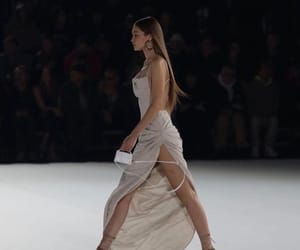dress, fashion show, and look image