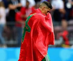 flag, drapeau, and maroc image