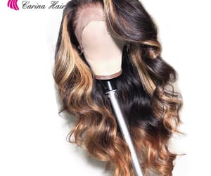 lace, wig, and wigs image