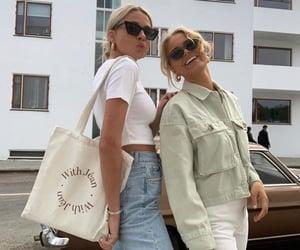 fashion, girls, and friendship image