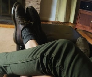 boots, green, and legs image