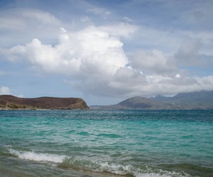 beach, saint kitts and nevis, and beautiful image