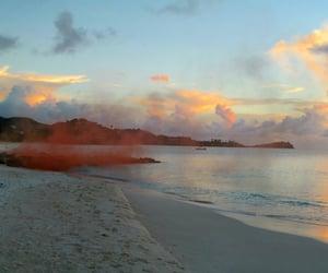 beach, beautiful, and Carribean image