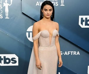 style, dress, and camila mendes image