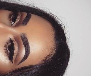 beauty, eyes, and girl image