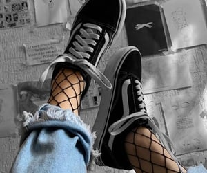 alternative, style, and black shoes image