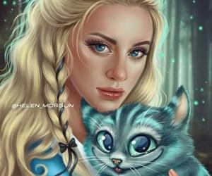 alice, alicia, and cat image