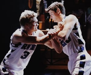 Basketball, brothers, and lucas scott image