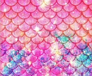 background, blue, and glitter image