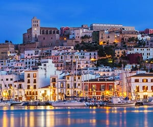 beach, cool, and spain image