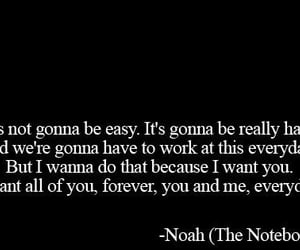 noah, love, and quotes image
